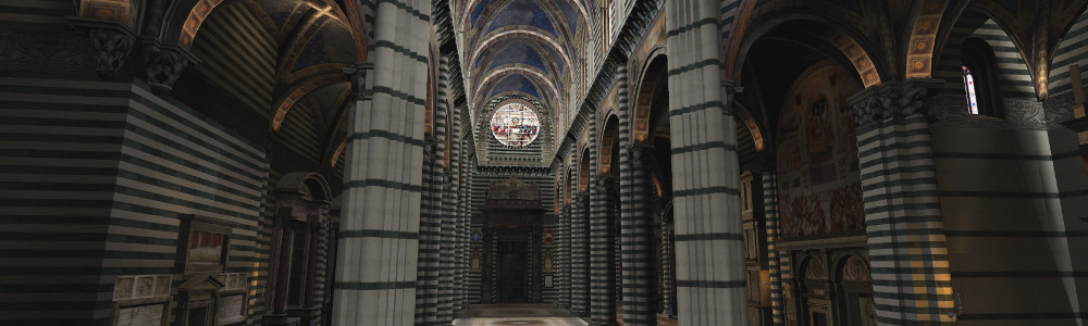 Cathedral at Siena, Italy