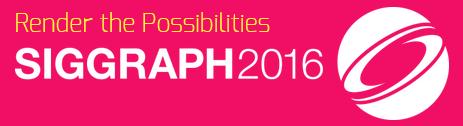 SIGGRAPH 2016 logo