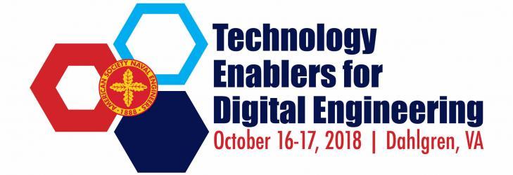 American Society of Naval Engineers (ASNE) Technology Enablers Digital Engineering (TEDE) 2018