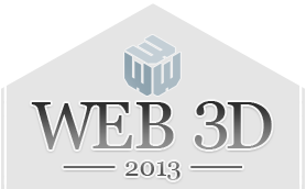 Web3D2013 Conference logo