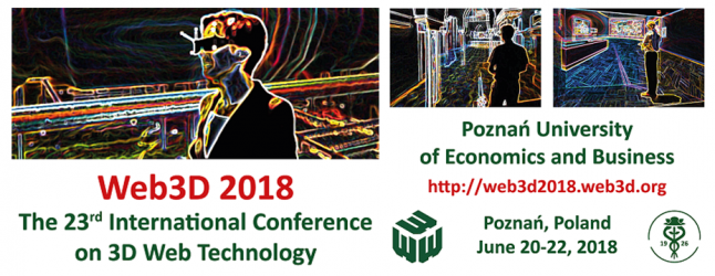 Come to Web3D 2018!