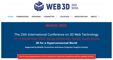 Web3D 2020 Conference