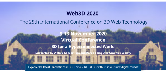 Web3D 2020 Virtual Conference