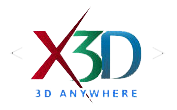 X3D - 3D Anywhere