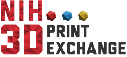 NIH 3D Print Exchange logo