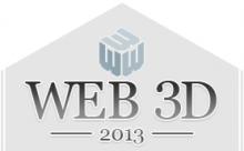 Web3D2013 Conference logo