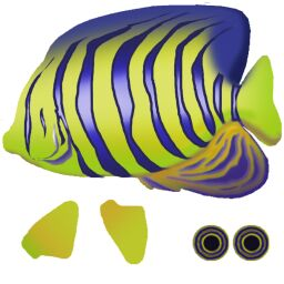 X3dtoxhtml listing for Examples of fish