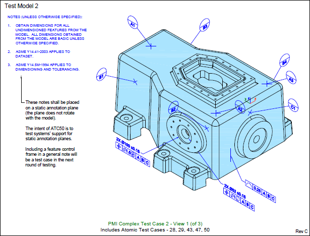 Viewpoint Slideshow: Conformance Nist X3D Examples Archive, STEP, CTC 02