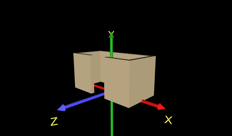 VRML 2 Sourcebook X3D Examples Archive, Chapter 15 - Extrusion
