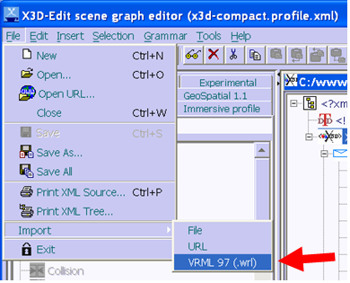 X3D-Edit 3 1 for Extensible 3D (X3D) Graphics - README